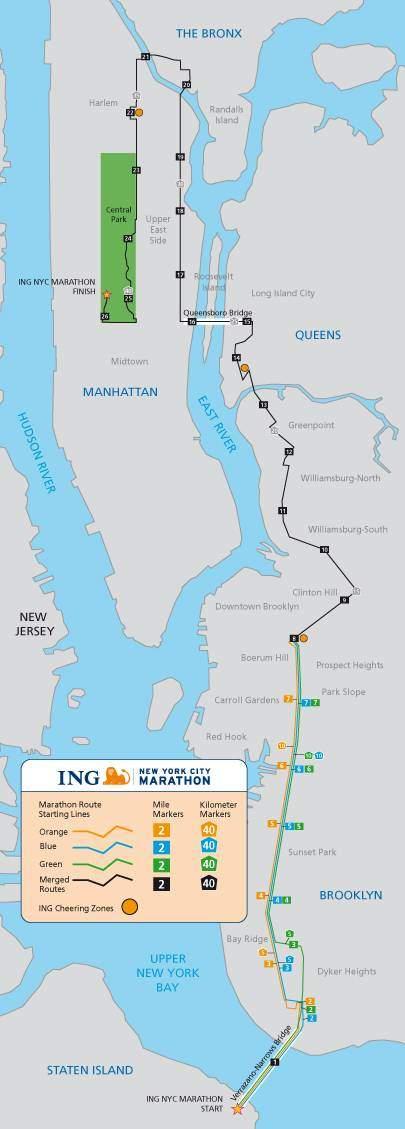 TCS NEW YORK CITY MARATHON  42K  MARATONA DI NEW YORK
