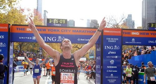 TCS NEW YORK CITY MARATHON 2014